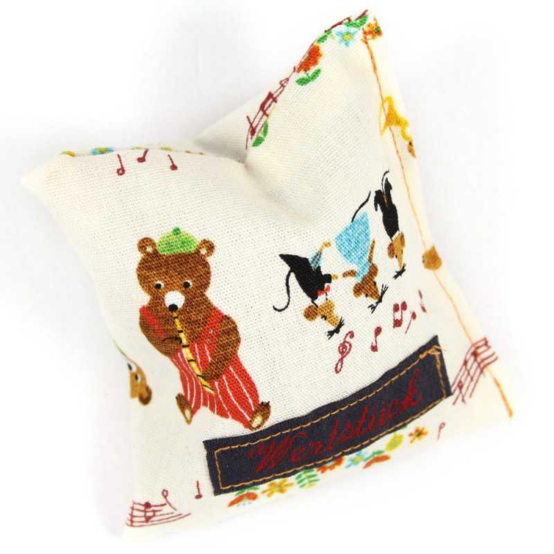 lavender pillow sachet filled lavender animal musicans