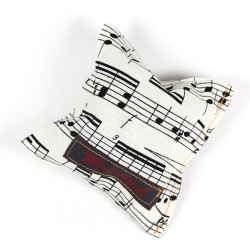 Lavender pillow animal musicans