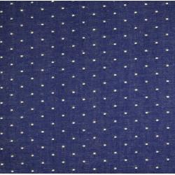 cotton fabric Andie Hanna fabulous foxes skulls blue Robert Kaufmann fabrics