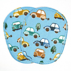 Flickli - the patch! set retro with animals multicolor