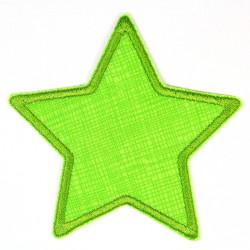 Flickli Stern Gitter hellgrün