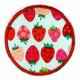 Flickli rund Erdbeere