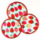 Flickli - the patch! round strawberry