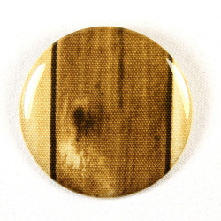 "Button woods fabric button 2.2"" pin"