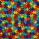 Stoffe für Kinder Baumwollstoff patchworkstoff puzzle zum quilten kleingemustert zum nähen timeless treasures fabrics