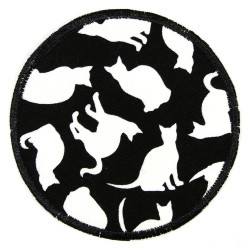 Flickli - the patch! african animals round