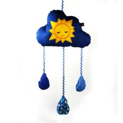 Mobile Wolke Sonne und Mond