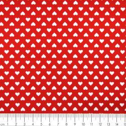 Cotton fabric hearts hearts patchwork fabrics Robert Kaufman fabrics sevenberry®