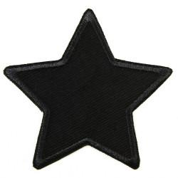 Flickli Stern schwarz