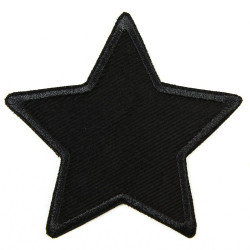 Flickli - the patch! Star black