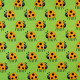 copenhagen fabrics ladybugs printed cotton fabric scandinavian design