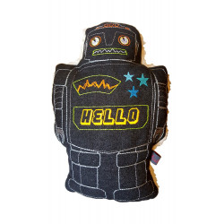 robot pillow large cushion stuffed animal for boys
