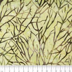 Leichter Baumwollstoff gedruckter Batic Stoff Tonga Firestorm timeless treasures fabrics Moss B3178