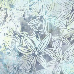 flowers fabric batic timeless treasures fabrics b3270 cotton Tonga Color Surf