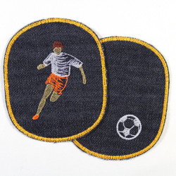 Iron-on Patches appliques 2 accessories Footballers and football players