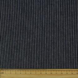 denim fabrics blue jeans cotton fine white stripes