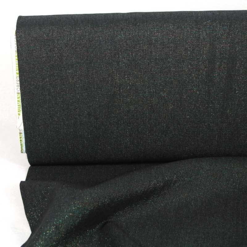metallic fabrics glitter cotton linen blend with lurex