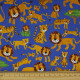 cosmo fabrics tiger and tiger blue cotton japanese fabrics cosmo