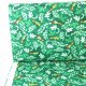 bird parrot on green textile fabric timeless treasures fabrics