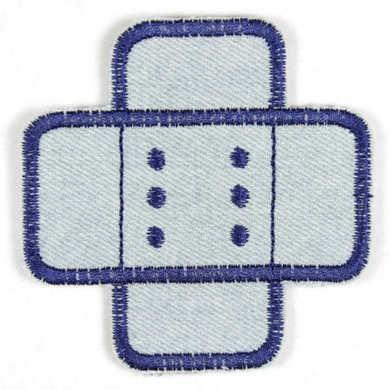 Iron-on patches light blue iron-on patches jeans patches iron-on patches knee patches trouser patches plaster patches