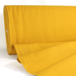 canvas fabrics mustard cotton 230g/m² big sur Robert Kaufman fabrics yellow