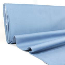 Stoff fester Canvas taubenblau Baumwollstoff big sur Mustard Robert Kaufman fabrics 230g/m² blau grau