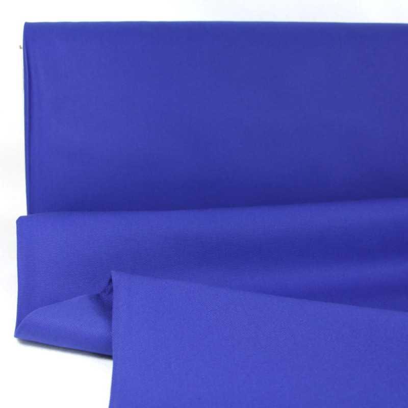 canvas fabrics deep royal cotton 230g/m² big sur blue Robert Kaufman fabrics