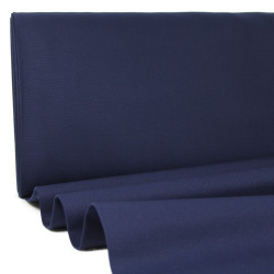 canvas fabrics blue cotton 230g/m² big sur navy blue Robert Kaufman fabrics