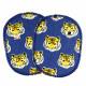 Knieflicken Set Tiger Hosenflicken Raubkatzen 2 Bügelflicken 10x8 cm Flicken Jungs Motiv Aufbügler für Knie Raubtier Katzen Patc