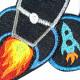 Bügelbilder Raketen Set 3 Flicken Stern Weltraum Weltall Hosenflicken Angebot Space Knieflicken Jeansflicken Bügelbilder Galaxy