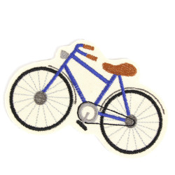 Bicycle Iron-On Applique Velo Patch Iron-on Patch Vehicle Patch Iron-On Patch Patch Vegan