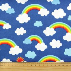 Cotton patchwork rainbow...