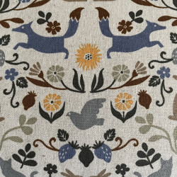 Fabrics as decorative fabrics, pillowcases or curtains from cosmo from Japan
