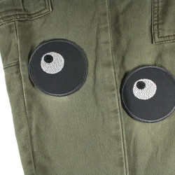 textile repair patches as iron-on patches eyes for trousers to cover holes