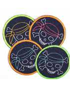 round patches 9,5 cm