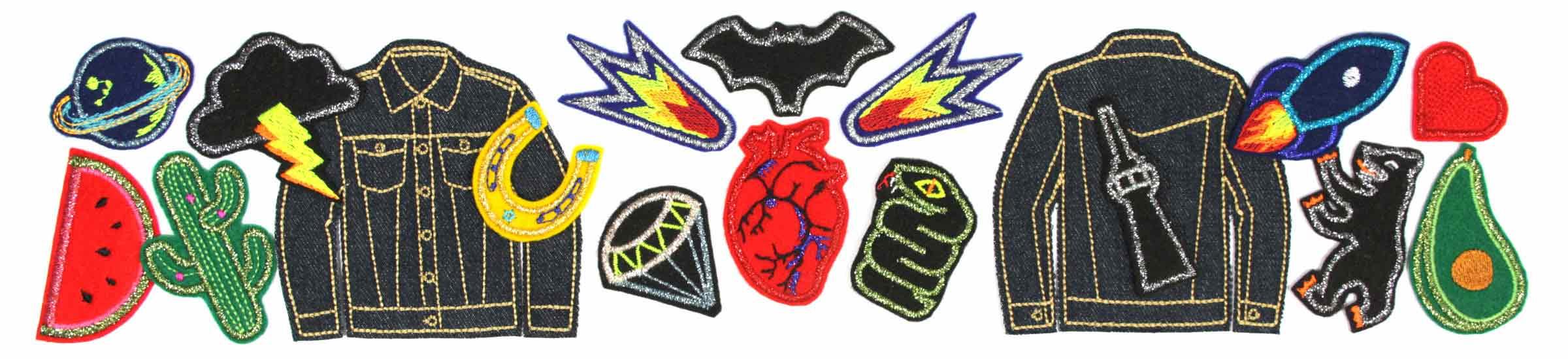 bugelbilder-flicken-aufnaher-patches-aufbugler-jeans-jacke-klein-glitzer-metallic-flickli-aufbugeln-erwachsene-kinder-accessoires-hosenflicken-knieflicken-aufbugeln